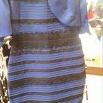 ENCUESTA. ¿De qué color ves el vestido?  RT .- Blanco y Dorado   FAV .- Azul y Negro   #TheDress #whiteandgold http://t.co/jbDENlkUY4