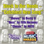 """Congrats @iambeckyg @fifthharmony and @Mkto on your #RDMA nomination for Stuck In Our Heads – Catchiest New Song""""! http://t.co/vePMPSowZM"""