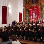 """La banda @sonescaceres interpreta la nueva pieza musical de N/H @raulmarcru """"De gracia y Esperanza"""" http://t.co/kNNPLooNfz"""
