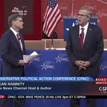VIDEO: @JebBush complete Q&A with @seanhannity at #CPAC2015 http://t.co/bcO7aEDSAk http://t.co/vE1N2PJBnX