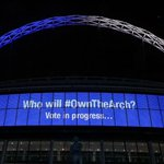 Latest #OwnTheArch update as displayed live on the arch tonight... 51% - #ChelseaAtWembley 49% - #SpursAtWembley http://t.co/MVM8BgSd2r