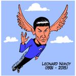Please, RT! Goodbye, Mr. Spock! Via @al_tagreer #RIPLeonardNimoy http://t.co/wuj93Gc4wo