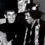 """As always with historic and timely pics...@BeschlossDC: Leonard Nimoy meets Jimi Hendrix: #LATimes http://t.co/MqRvqx3KiB"""""""