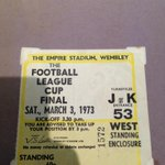 My dad paid 60p for Spurs v Norwich in 73! Ive paid £150 for this weekend! ???? #COYS #SpursAtWembley @1MickyHazard http://t.co/C2unsjOV0J