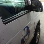 Weve got a light dusting now accumulating on our #4029News van! http://t.co/ch3xKkRHjS