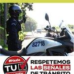 Haga uso de la velocidad adecuada, no ponga en riesgo su vida ni la de los demás. http://t.co/4RqeNRbgn4