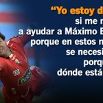 [AUDIO] @CLMoralesB, dispuesto a trabajar con @MaximoBanguera1 . http://t.co/ZCFMoK0gDg http://t.co/3Aw1yUSr8G