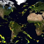 Stunning NASA video provides a 3D video of global rain and snowfall patterns: http://t.co/9po3NVGRpg http://t.co/bkPz0bMAbK