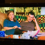This couple make me want to stop watching #Gogglebox. The dogs pink lipstick on display is gross. http://t.co/jft8ITqjHN
