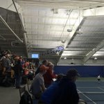 Really nice crowd supporting @pennstateMTEN this afternoon. Lions taking on #8 Ohio State. http://t.co/Rte4DkocOp