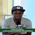 """El ecuatoriano Juan Cazares, jugador del @CAB_oficial, dice que está para """"grandes cosas"""" http://t.co/A4Ov40oUHB http://t.co/WfuqAWJRI2"""