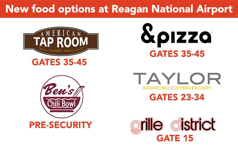 Hungry before your flight? Catch one of our new DCA food options