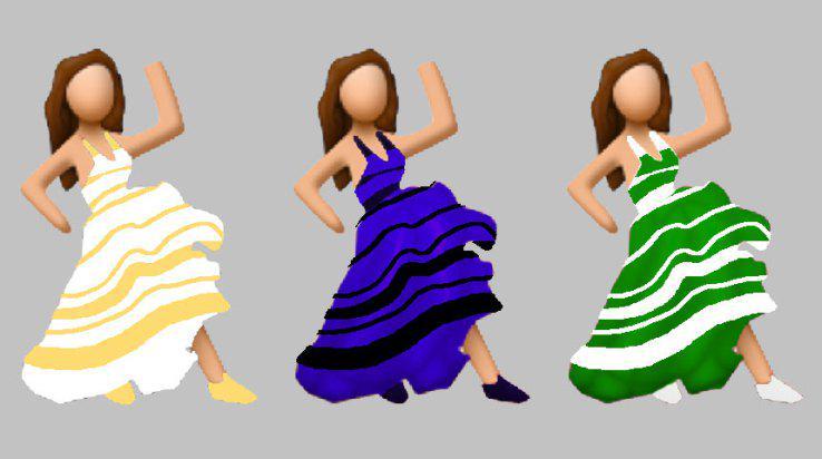 Fan del emoji de flamenca versión #thedress http://t.co/q1PX5xLJXD http://t.co/LRkCWaFAxu