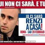 DOMANI LUI NON CI SARÀ. E TU? #Roma h15, Piazza del Popolo #renziacasa http://t.co/D7s8Mtgi1D #Salvini http://t.co/pQS4GrDEnj