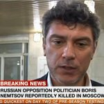 Developing Story: Russian opposition leader Boris Nemtsov shot dead in Moscow, according to Russian media. More soon. http://t.co/gbRtJRiMV1