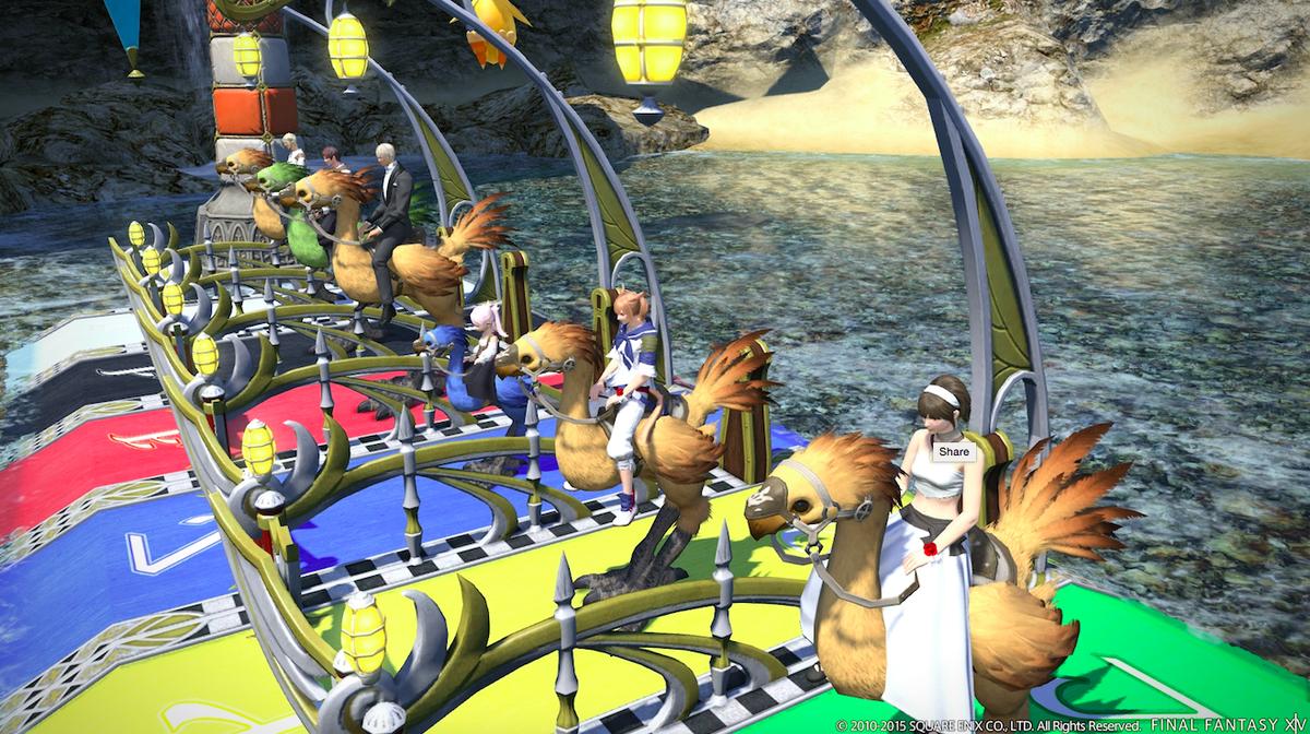 Скриншоты Final Fantasy XIV: A Realm Reborn с патчем 2.51.