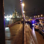 MORE: White vehicle approached #Nemtsov, fired several shots, and rushed away – reports http://t.co/6xHGlqs5AR http://t.co/32CZIRZ60N