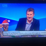 The moment my twitter feed invaded my television. @TheLastLeg @djJoeyLopes http://t.co/xjWQl7Nlu0
