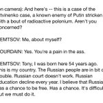 """Bad things seem to happen to critics of Vladimir Putin,"" @Bourdain said on CNN last spring, introing Boris Nemtsov. http://t.co/cjwXM3TdXl"