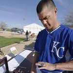 Look whos getting fitted for a ring (@TheRealJGuts). Photos from Fridays #Royals camp: http://t.co/PvmKRyl9ed http://t.co/kG3pm1s9lD
