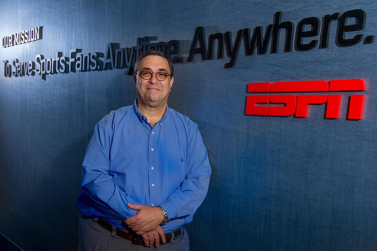 Chuck Pagano, ESPN's first CTO & @ESPN original, retired today. He changed the face of sports TV forever. #LEGEND http://t.co/2XnCwqPuel