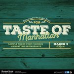Come sample food from various Manhattan restaurants. We're hosting a Taste of Manhattan in the Jardine Tower. http://t.co/17NtrAhyOt