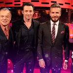 Wolverine, a former England captain and a rock music icon... Just an average Friday night with Graham on @BBCOne. http://t.co/FoXMPE3XgT