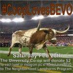 Hook'em on education! Support #NeighborhoodLonghorns – Charity ReTweet! #cooplovesBEVO with @Bevo_XIV - http://t.co/zf1Go72ccU