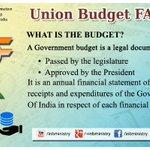Union Budget FAQs: What is budget? #बजट2015 #Budget2015 http://t.co/27t0STanAC