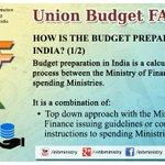 Union Budget FAQs: How is budget prepared? #बजट2015 #Budget2015 http://t.co/WqYDO0bANe