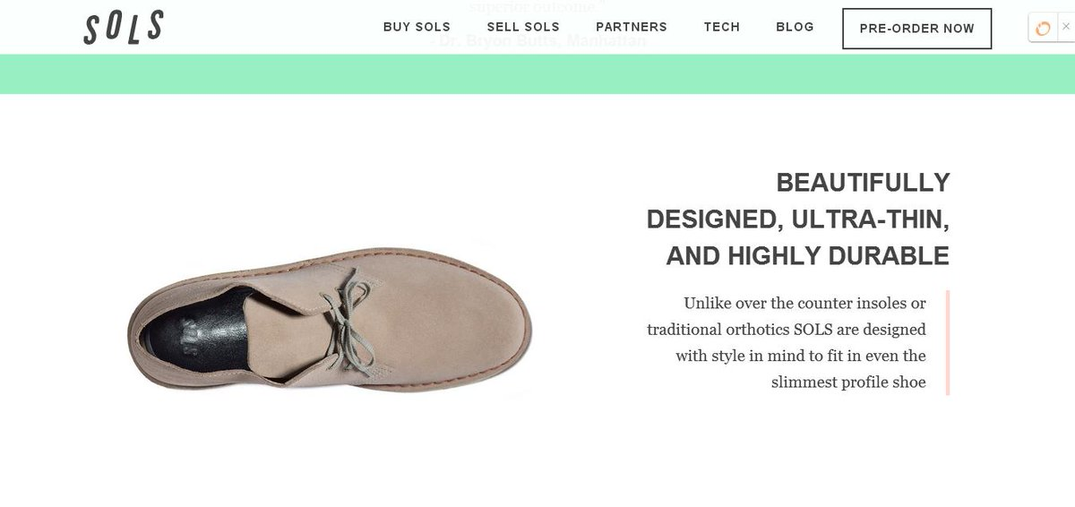 @wearSOLS keeps killing the #3dprinting game: http://t.co/fCrIDGypen #fashiontech http://t.co/ePoVzHD92K