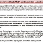 This is what Supreme Court has to say about @narendramodi land acquisition policy. #pmkajawab #pmhitsback #Modi http://t.co/mdg0oAjkq9
