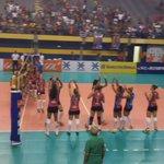 O Maranhão Vôlei/Cemar venceu de 3x0 o jogo contra o São Bernardo. Parabéns meninas, representaram bem o Maranhão :) http://t.co/eMgbdvyvOL