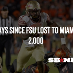 2,000 Days since Florida State lost to Miami #Noles #FSU #Canes []_[] http://t.co/aulcSNEQDL http://t.co/6H5xodb6HW