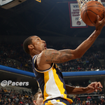 With 12 points, 10 rebounds and 11 assists, George Hill officially has a #TripleDouble. http://t.co/1fjzs8kwZg