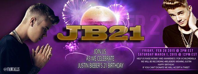 Join us tomorrow for an audio recording to wish Justin Bieber Happy Birthday 12pm est 646-929-1325
