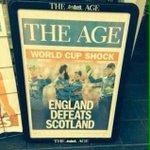 Australia v Scotland on the 14th March should be a ripper... #CWC15 http://t.co/FsLDa4QzWa