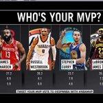 Seems pretty obvious to me... Russell Westbrook #NBAMVP @ESPNNBA http://t.co/CacjbxWhVW