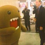 The Duke got a warm welcome at NHK TV studios this morning! #RoyalVisitJP http://t.co/2MEYQLUdTz