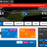 WOW! 11 for 0 after 0.1 overs, You are not reading that score wrong, 4 off No Ball, Free Hit for 6! #cwc15 #AUSvNZ http://t.co/uRPg3bbVLt