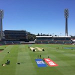 Just about 90 minutes to the first ball being bowled @waca_cricket @Sport_360 #CWC15 #INDvsUAE http://t.co/hT2Tt7UDyk