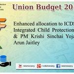 Enhanced allocation: Social Sector: Shri @arunjaitley #बजट2015 #Budget2015  #SabkaBudget http://t.co/ji49DiRuhw