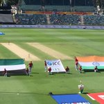 India - UAEs biggest trade partner, but no quarters given today at WACA!! @Sport_360 #CWC15 #INDvsUAE http://t.co/l0CycEXPrX