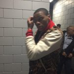 Russell Westbrook departs with team PR http://t.co/33TvG2q7Xx