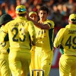 It finished 3 hours early. Only 56 overs were bowled. But NZ and Aus have produced the game of the tournament #NZvAus http://t.co/fTLTkk9aRP