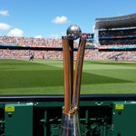 New Zealand are just about to get their hands on this! #cwc15 #AUSvNZ http://t.co/btfPJXK0gg