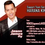 RT if youre for JASON DY of Team Sarah! #VoicePH2Finale http://t.co/M4QnIUy8Ze
