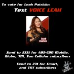 RT if youre for LEAH PATRICIO of Team Lea! #VoicePH2Finale http://t.co/TcRUeiYFYi