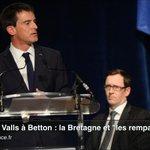 """Manuel #Valls à Betton. La #Bretagne et """"les remparts de Guérande"""" http://t.co/ajkG9YVOEE http://t.co/9lGqfb4gdM"""