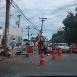 Após o alerta na Terra,FM, Prefeitura de Goiânia, tapou o buraco q apareceu na Rua 9 Centro de Goiânia. http://t.co/HZwKAaFKc1